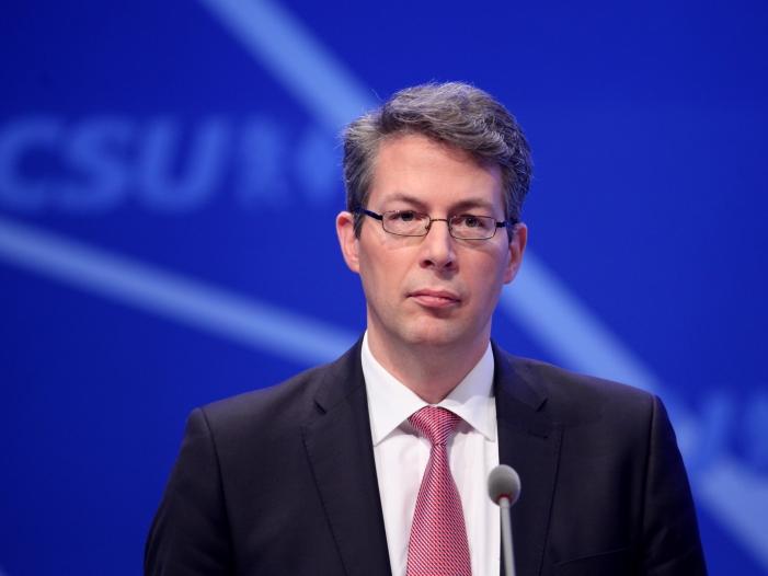 Bild von CSU-Generalsekretär warnt SPD vor Aufgabe der schwarzen Null