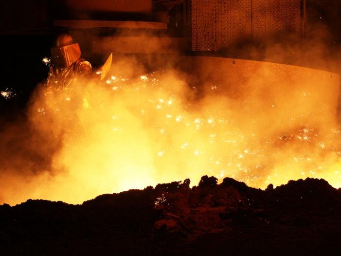 Laschet will NRW als Stahl Standort retten - Laschet will NRW als Stahl-Standort retten
