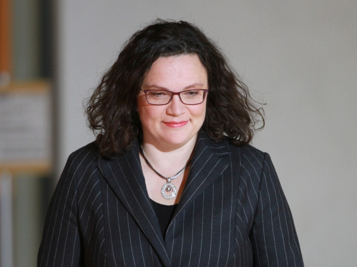 Malu Dreyer noch immer bestürzt über Nahles Rücktritt - Malu Dreyer noch immer bestürzt über Nahles-Rücktritt