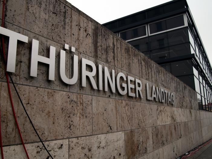 Bild von Prognosen von ARD und ZDF: Linke in Thüringen stärkste Kraft