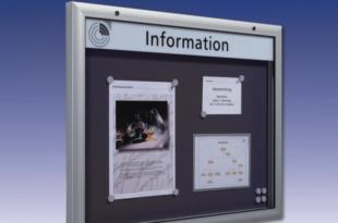 Schaukasten 310x205 - Werbung, Werbung und noch mehr Werbung – der erste Eindruck zählt