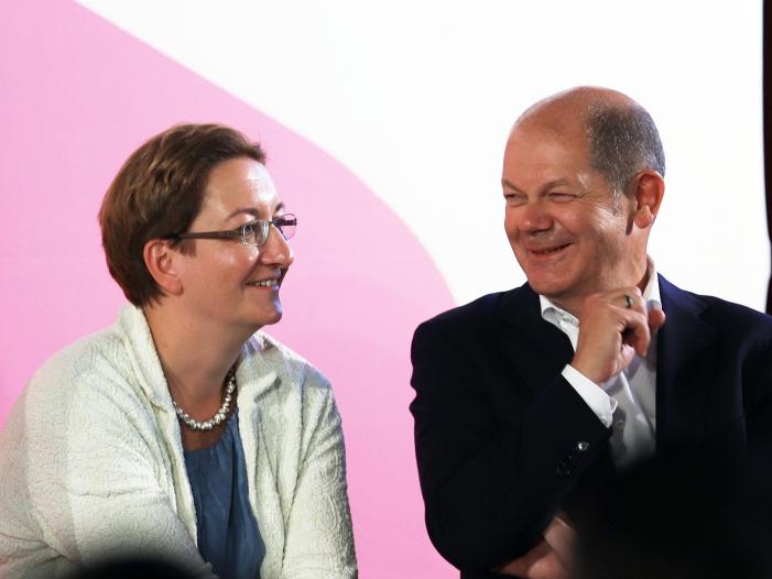 ScholzGeywitz und Walter BorjansEsken gehen in SPD Stichwahl - Scholz/Geywitz und Walter-Borjans/Esken gehen in SPD-Stichwahl
