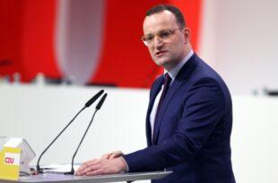 Spahn warnt CDU vor Personaldebatten 310x205 - Spahn warnt CDU vor Personaldebatten