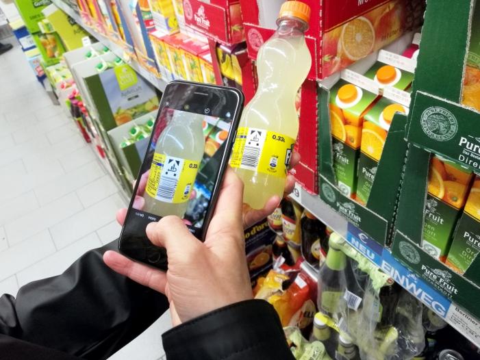 Supermärkte setzen mehr Handscanner zum Bezahlen ein - Supermärkte setzen mehr Handscanner zum Bezahlen ein