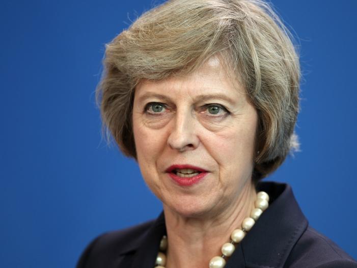 Bild von Theresa May wirbt leidenschaftlich für neuen Brexit-Deal