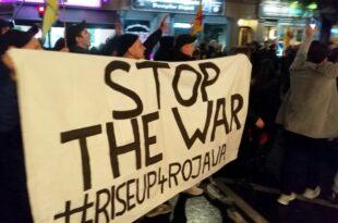 Wieder Tausende bei Protesten gegen türkische Offensive 310x205 - Wieder Tausende bei Protesten gegen türkische Offensive