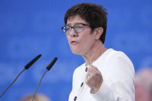 AKK schlägt Nationalen Sicherheitsrat vor 310x205 - AKK schlägt Nationalen Sicherheitsrat vor
