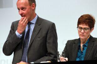 """Bosbach Merz wird CDU Chefin ausdrücklich den Rücken stärken 310x205 - Bosbach: Merz wird CDU-Chefin """"ausdrücklich den Rücken stärken"""""""