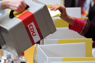 CDU Landesvorsitzende gegen Urwahl des Kanzlerkandidaten 310x205 - CDU-Landesvorsitzende gegen Urwahl des Kanzlerkandidaten