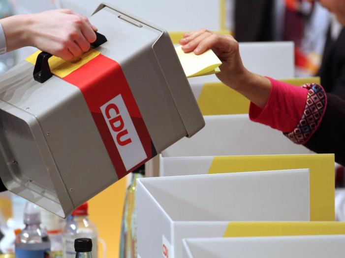 Photo of CDU-Landesvorsitzende gegen Urwahl des Kanzlerkandidaten