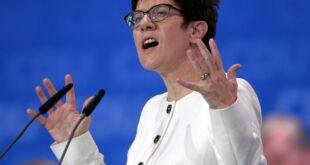 CDU empört über SPD Angriff auf Kramp Karrenbauer 310x165 - CDU empört über SPD-Angriff auf Kramp-Karrenbauer