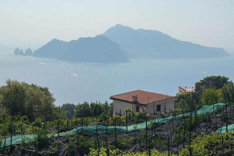Capri - Italien Urlaub - damals und heute