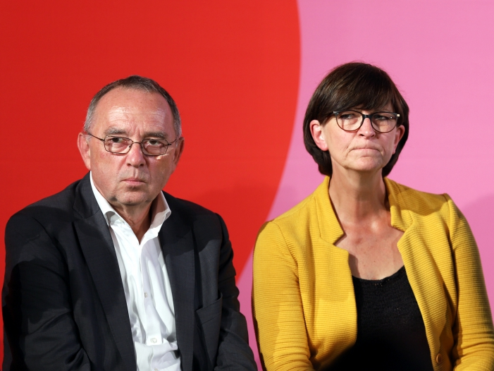 Bild von Esken und Walter-Borjans wollen Klimapaket nachschärfen