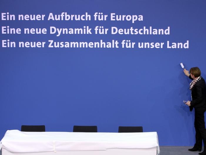 Europäische Bewegung kritisiert Europapolitik der GroKo - Europäische Bewegung kritisiert Europapolitik der GroKo
