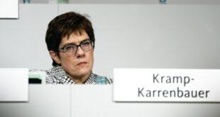 Kramp Karrenbauer Schwierige Phase für die CDU 310x165 - Kramp-Karrenbauer: Schwierige Phase für die CDU