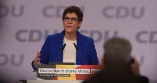 Kramp Karrenbauer ruft CDU zu mehr Zusammenhalt auf 310x165 - Kramp-Karrenbauer ruft CDU zu mehr Zusammenhalt auf