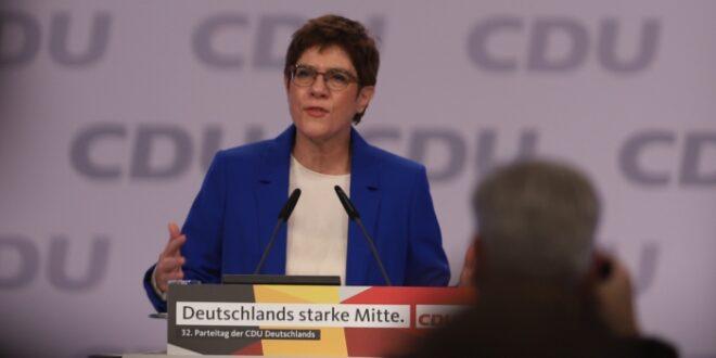 Kramp Karrenbauer ruft CDU zu mehr Zusammenhalt auf 660x330 - Kramp-Karrenbauer ruft CDU zu mehr Zusammenhalt auf