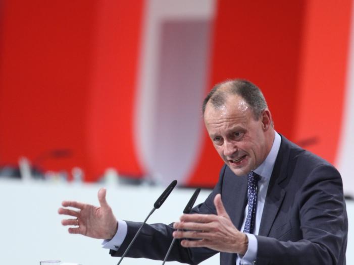 Photo of Merz plant Programmrede auf CDU-Parteitag