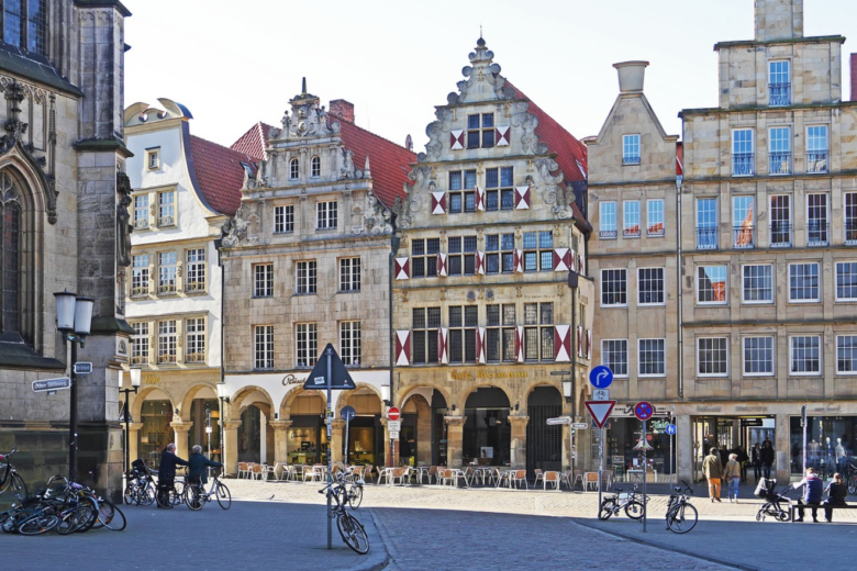 Bild von Münster baut Radverkehr massiv aus