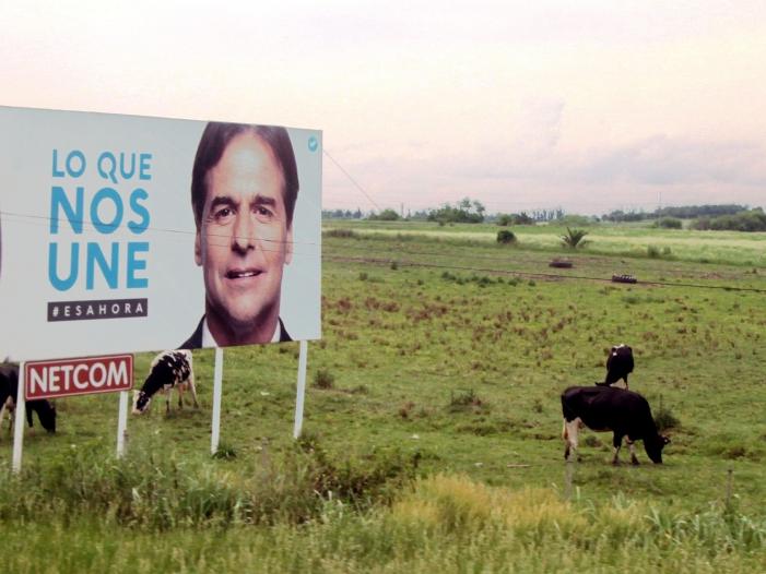 Bild von Rechtsruck bei Präsidentschaftswahl in Uruguay