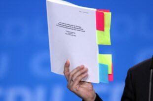 Union und SPD wollen Koalitionsvertrag erneuern 310x205 - Union und SPD wollen Koalitionsvertrag erneuern