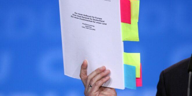 Union und SPD wollen Koalitionsvertrag erneuern 660x330 - Union und SPD wollen Koalitionsvertrag erneuern
