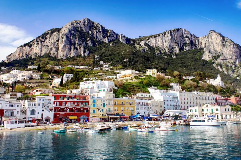 Urlaub auf Capri - Italien Urlaub - damals und heute