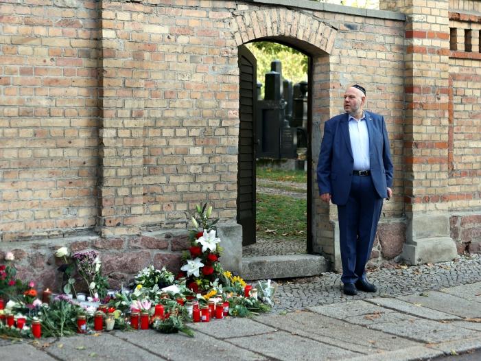 Vorsitzender der Jüdischen Gemeinde Halle sieht Parallelen zu 1938 - Vorsitzender der Jüdischen Gemeinde Halle sieht Parallelen zu 1938