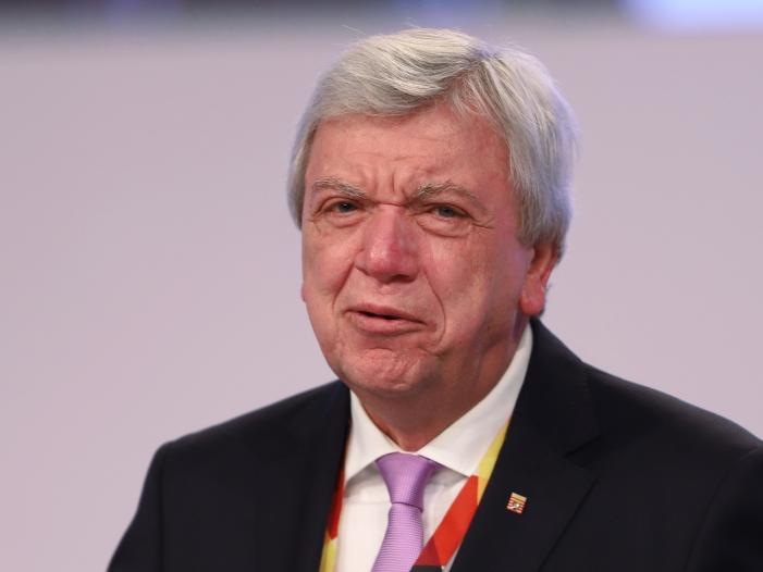 Bouffier warnt SPD Spitzenduo vor überzogenen Forderungen - Bouffier warnt SPD-Spitzenduo vor überzogenen Forderungen