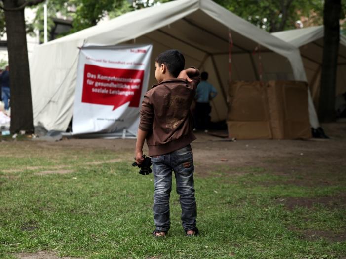 Photo of Hoher Kinderanteil unter Asylbewerbern