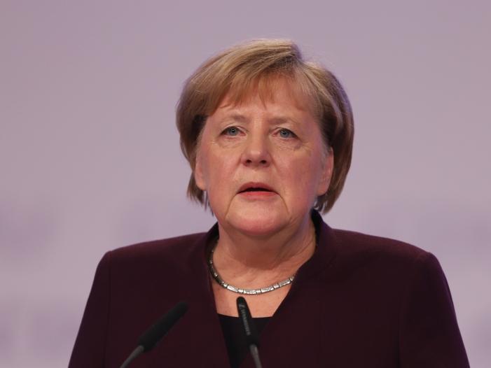 Bild von Merkel kondoliert nach Erdbeben in Albanien