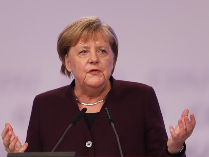 Merkel lobt EU Beschluss zur Klimaneutralität - Merkel lobt EU-Beschluss zur Klimaneutralität