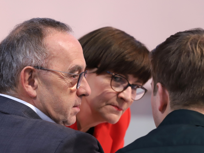 """Söder nach Gesprächen mit SPD Führung vorsichtig optimistisch - Söder nach Gesprächen mit SPD-Führung """"vorsichtig optimistisch"""""""