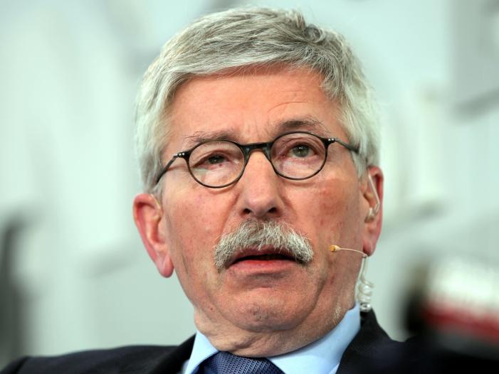 Sarrazin hält designiertes SPD Führungsduo für überfordert - Sarrazin hält designiertes SPD-Führungsduo für überfordert