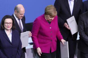 Umfrage Scholz bei Politikerzufriedenheit gleichauf mit Merkel 310x205 - Umfrage: Scholz bei Politikerzufriedenheit gleichauf mit Merkel