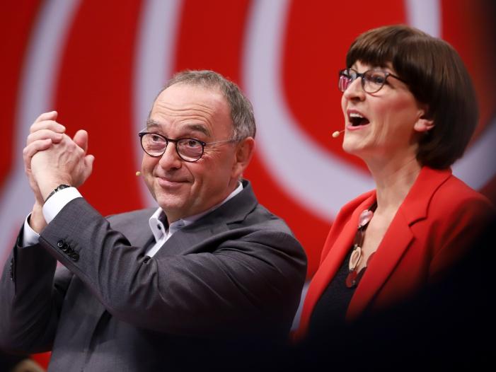 Photo of Walter-Borjans und Esken neue SPD-Chefs – Überraschung bei Ergebnis