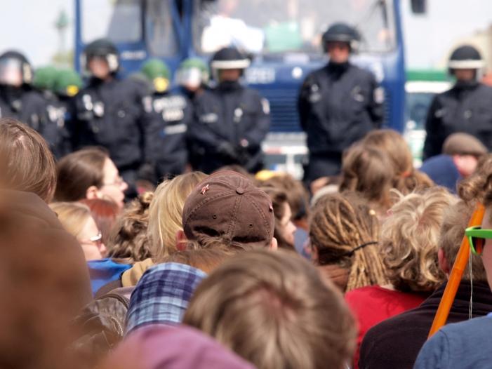 Bild von Polizeigewerkschaft warnt vor wachsender Militanz der linken Szene