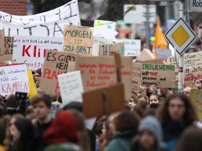 Fridays-for-Future-Protest in Vor-Corona-Zeiten, über dts Nachrichtenagentur