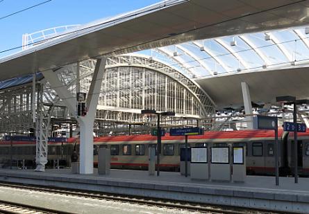 Hauptbahnhof Salzburg - Salzburger Hauptbahnhof bekommt den europäischen Stahlbaupreis