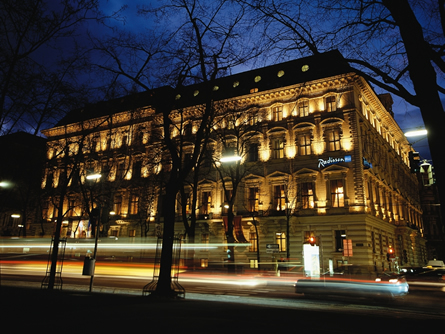 Radisson-Blu-Palais-Vienna Aus für Radisson Blu Palais Hotel